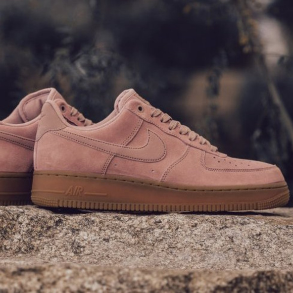 1 Gum Sneakers Nike Particle Pink Air Force Low UzSMqVpjLG